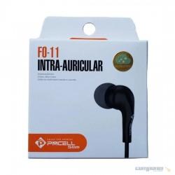 Fone De Ouvido Premium Slim Intra Auricular - Pmcell FO11